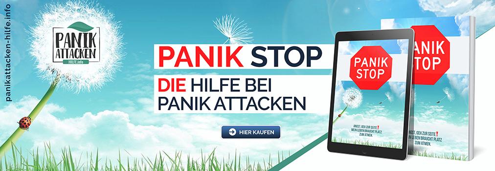Panik Stop Ratgeber gegen Angstattacken