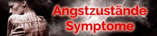 Angstzustaende Symptome